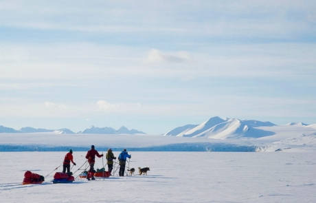 Svalbard, arctic charity expedition