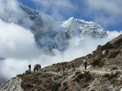 EBC trek - close to Namche Bazaar