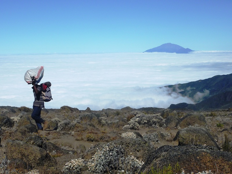 Kilimanjaro, above the clouds