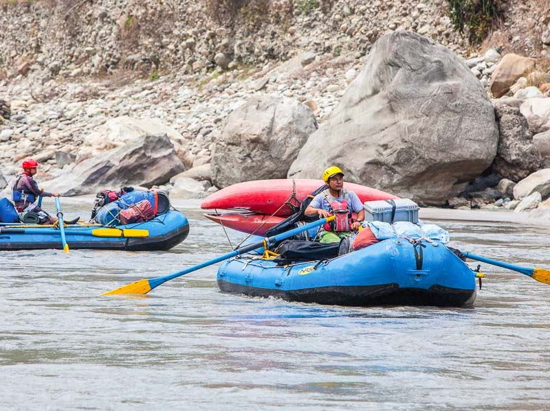 Raft and Ride Challenge, Nepal