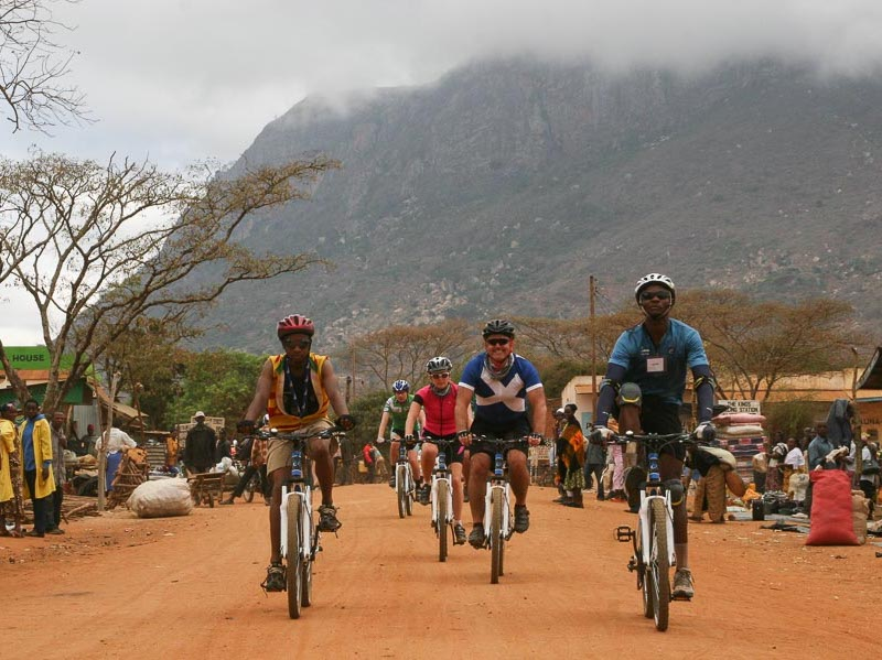Cycle for Charity in Tanzania