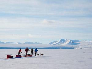 Svalbard Arctic 78 Degrees arctic expedition charity