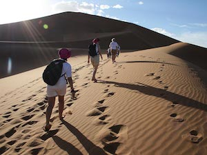 Morocco Snow and Sand Charity Trek